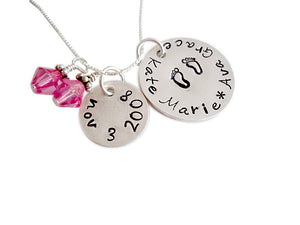 Personalized Twins Necklace