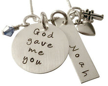Load image into Gallery viewer, Hand Stamped God Gave Me You with Name