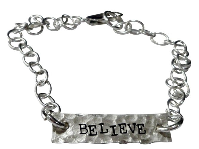 Personalized Believe Bracelet