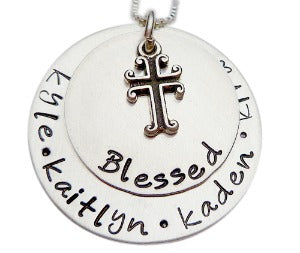 Personalized Blessed Stacked Necklace