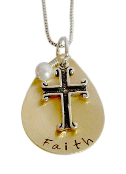 Personalized Faith Necklace