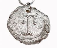 Personalized Fine Silver Initial Necklace