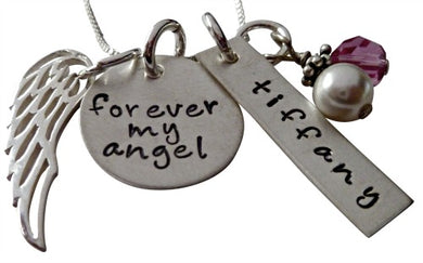 Personalized Forever My Angel Necklace