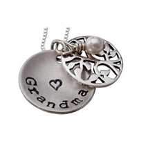 Load image into Gallery viewer, Personalized Locket of Family Tree Necklace