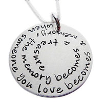 Load image into Gallery viewer, Personalized Quote or Phrase Necklace