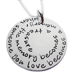 Personalized Quote or Phrase Necklace