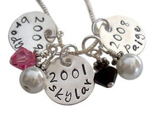 Load image into Gallery viewer, Personalized Family Details Necklace