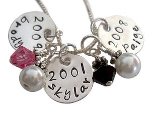 Personalized Family Details Necklace