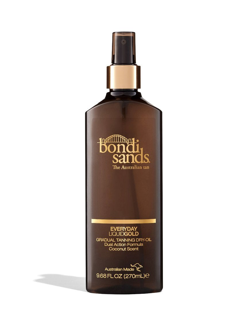 Everyday Liquid Gold Gradual Tanning Oil in a Spray Bottle
