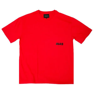 Oversized Logo Tee, Red