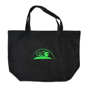 Load image into Gallery viewer, Oneness XL Tote Bag, Black/Green