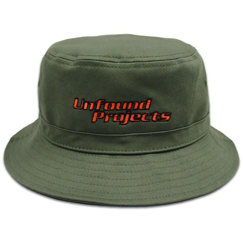 Adjustable Bucket Hat, Olive Green