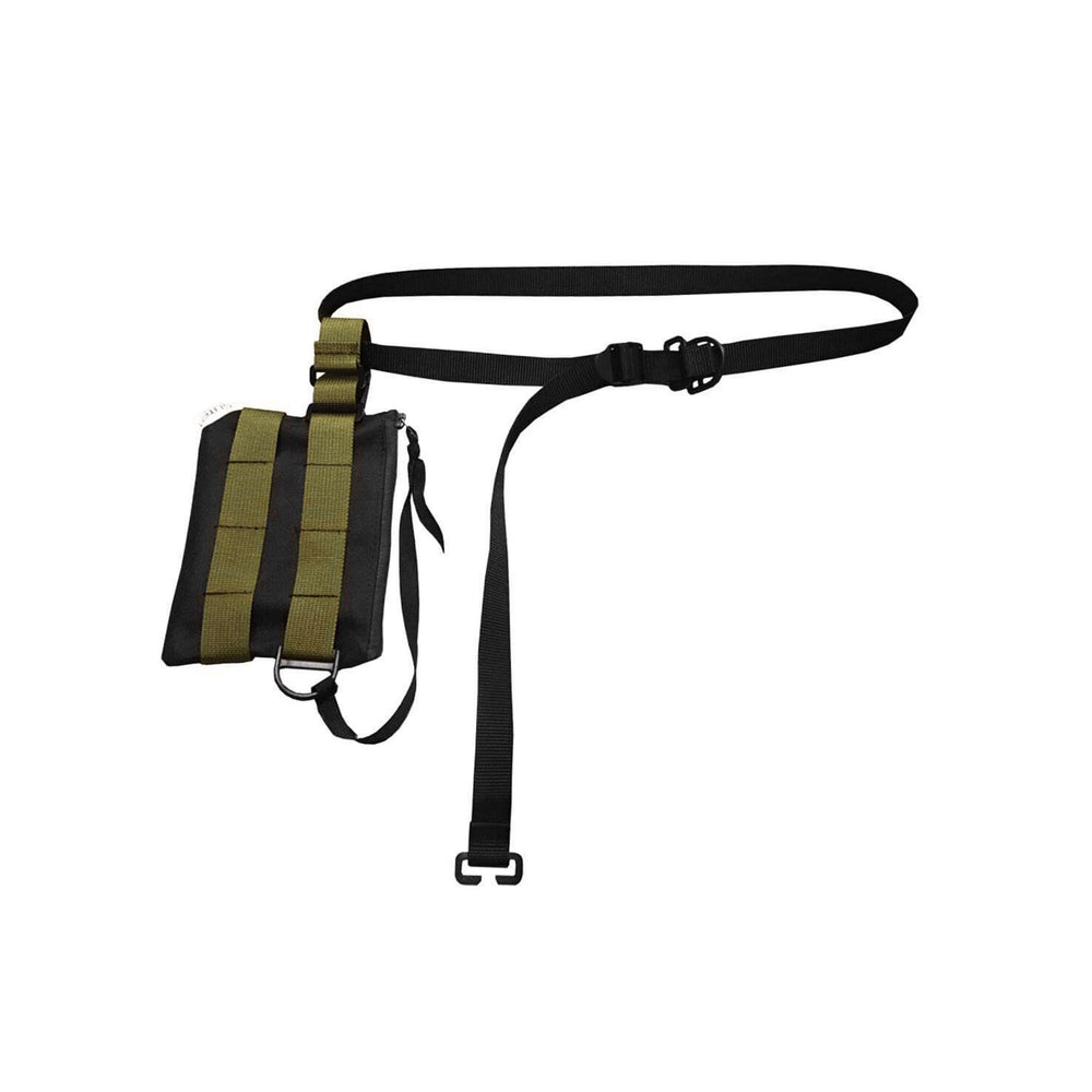 PS-3S Pouch bag Sling 3 Style, Black/Olive Green