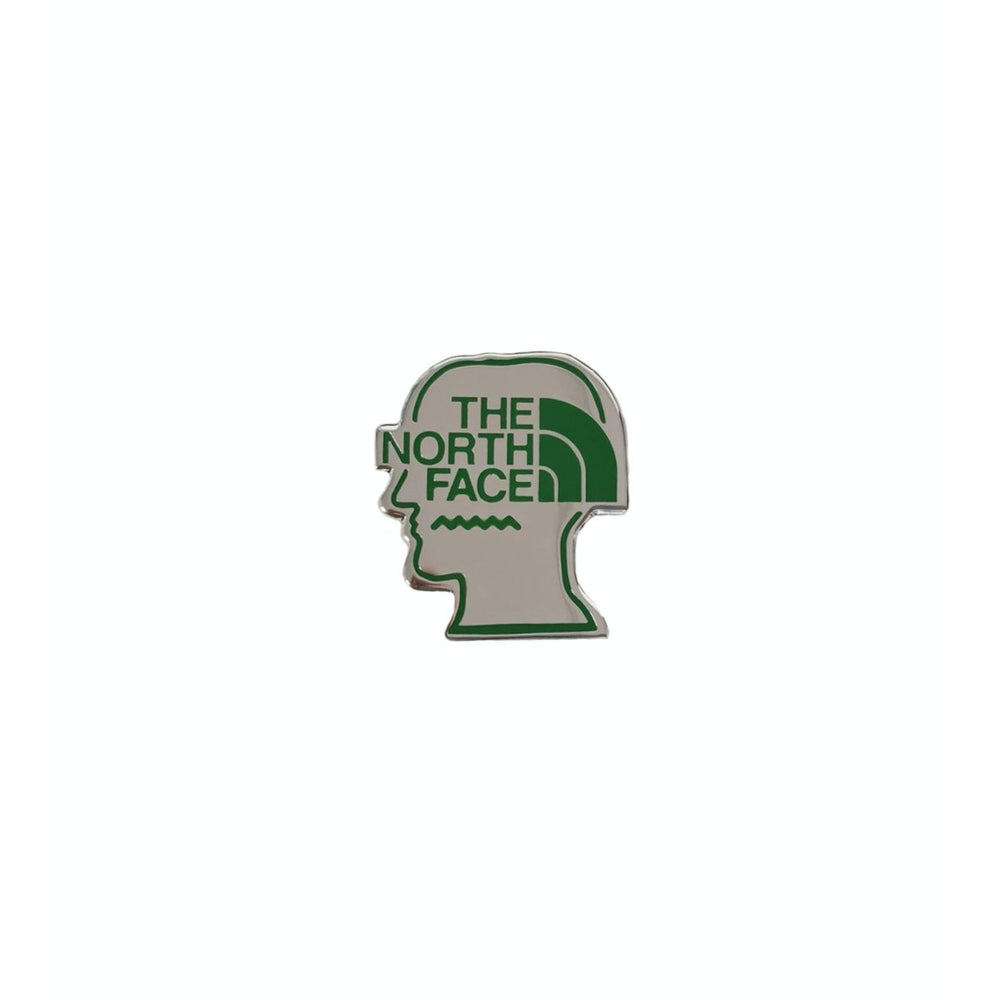 Brain Dead x The North Face All Rise Metal Pin, Green
