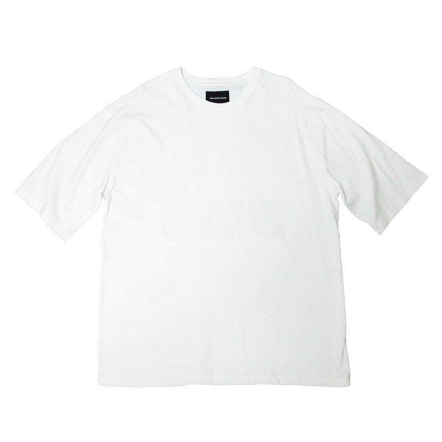 Back Logo Tee, White