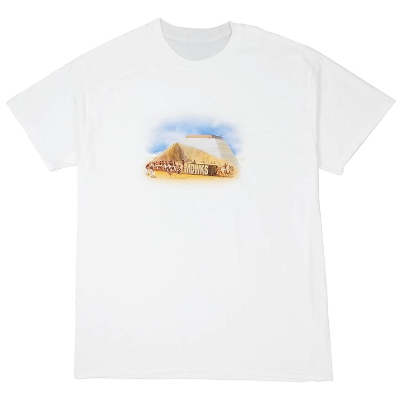 Load image into Gallery viewer, Works Hard Tee, White