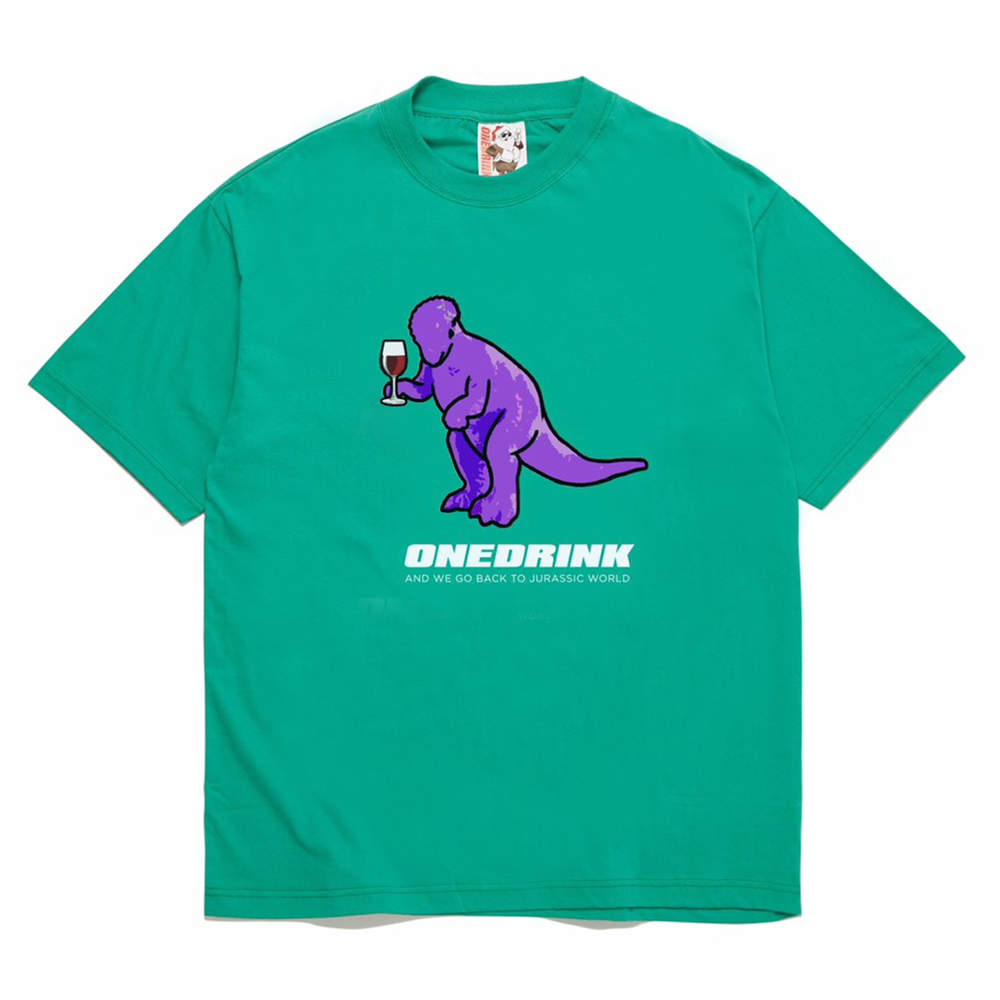 Load image into Gallery viewer, Dinosaur Tee, Green