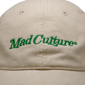 Mad Culture 6 Panel Cap, Latte