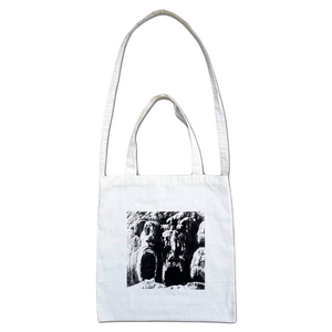 Load image into Gallery viewer, Den Publishing Group Stone Tote Bag, White