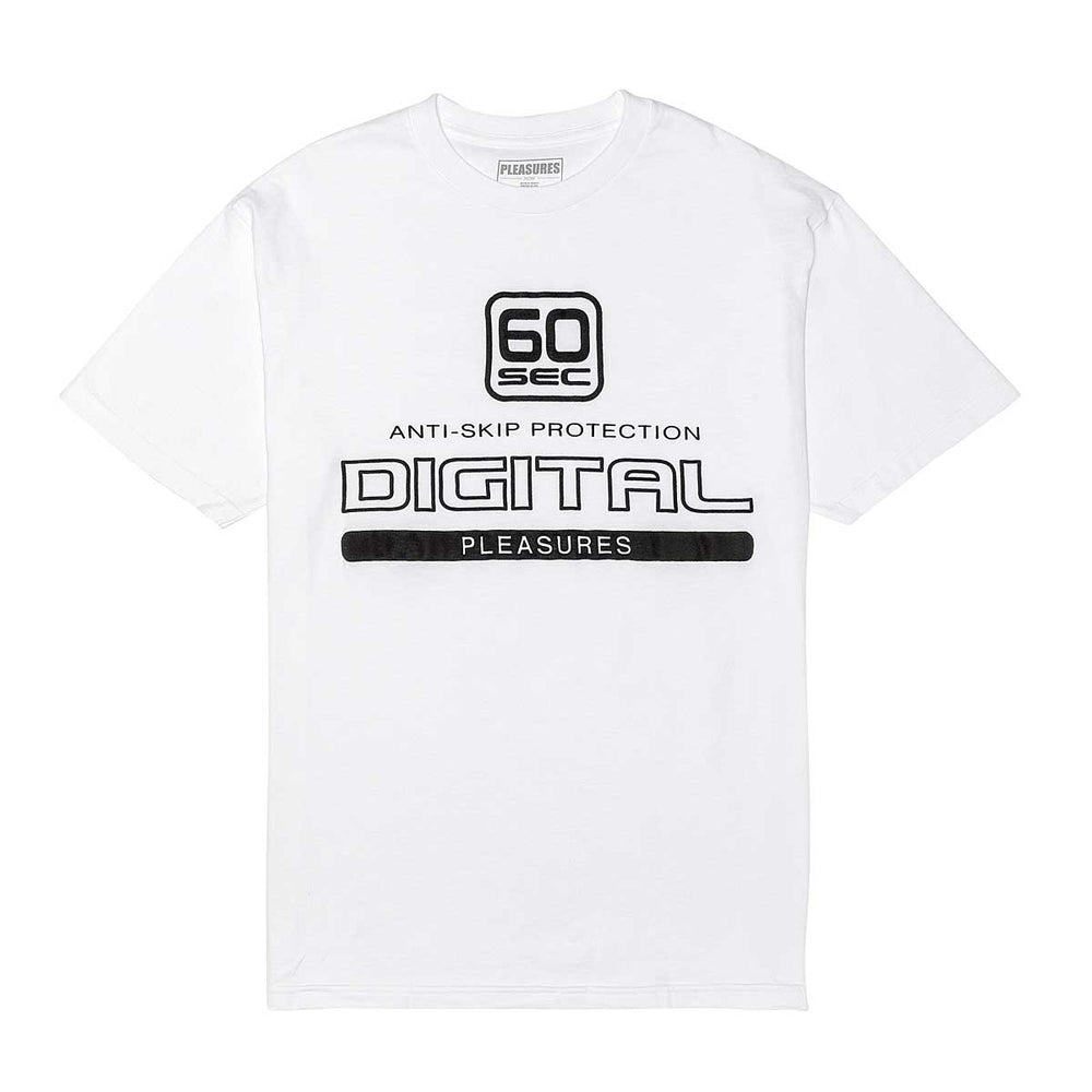 Digital Tee, White