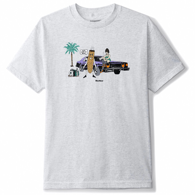 Cigar Tee, Heather Grey