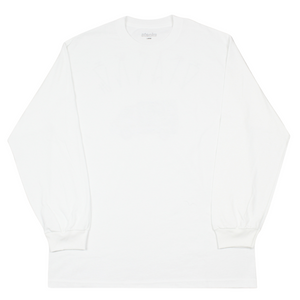 "Load image into Gallery viewer, Essu ""Akabou"" Long Sleeve Tee, White"