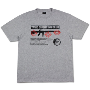 Shooting Club Tee, Heather Grey