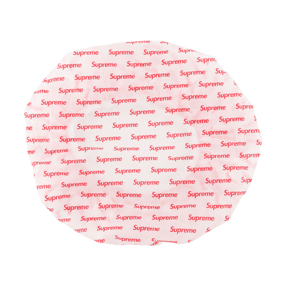 SS19 Shower Cap, Red/White
