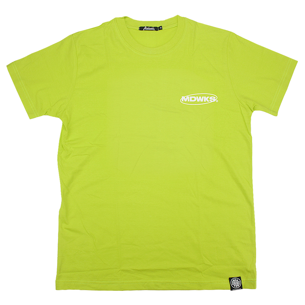 Save The Future Tee, Neon Green