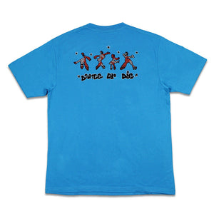 Load image into Gallery viewer, Dance Or Die Tee, Blue