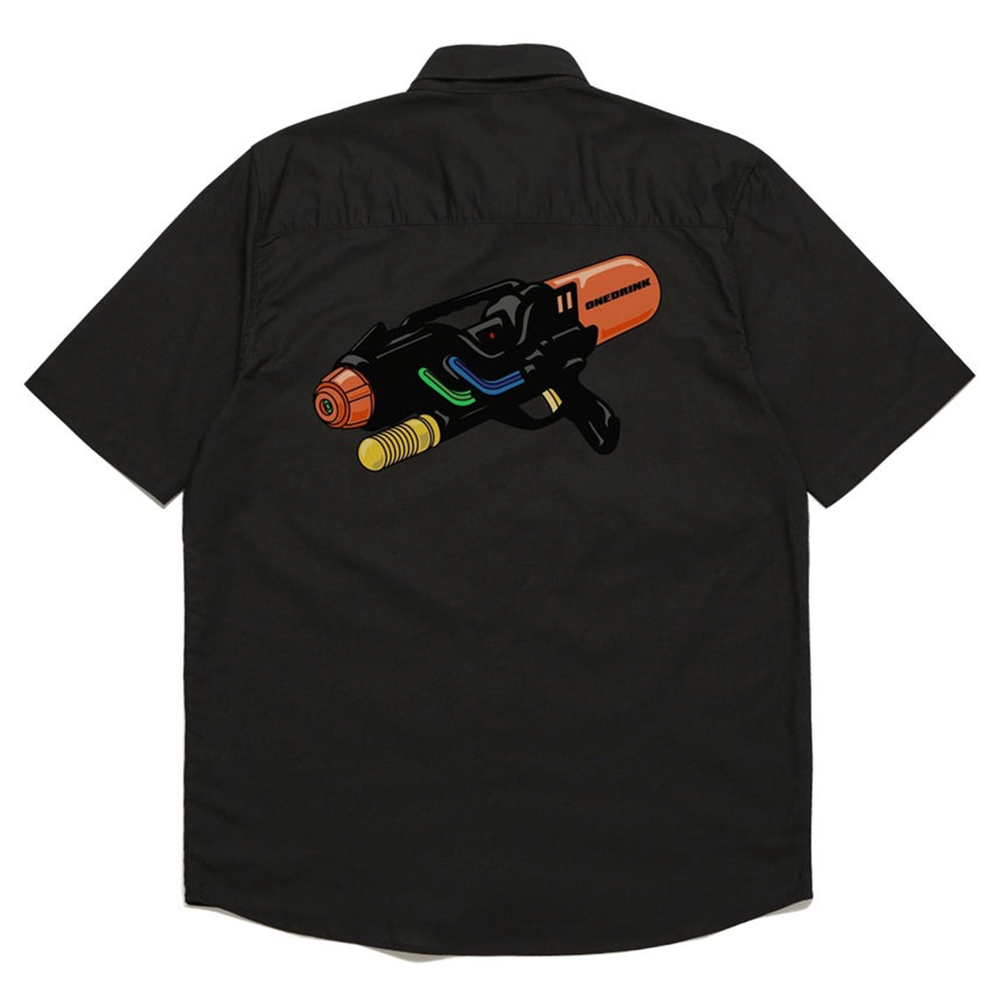 Splash Shirt, Black