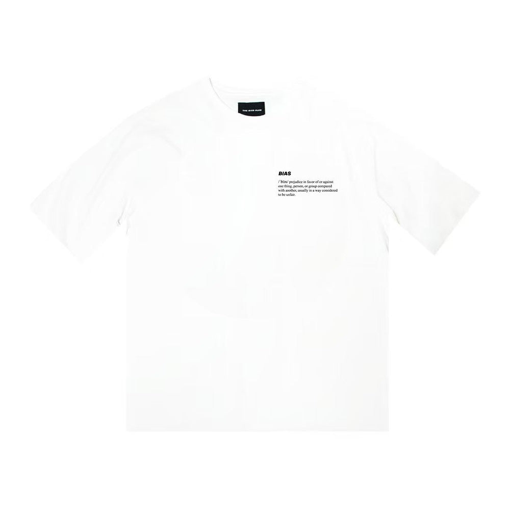 The Definition Tee, White