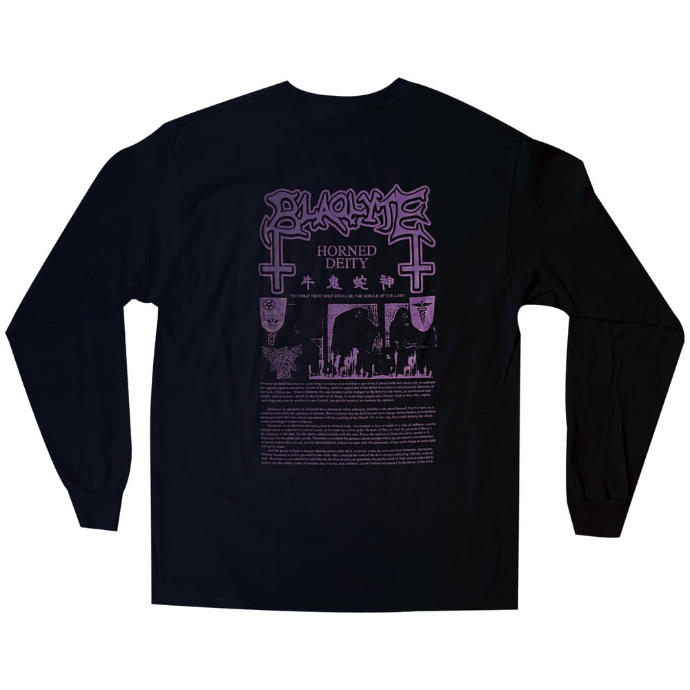 "CNY ""Year Of The Ox"" Long Sleeve Tee, Black"
