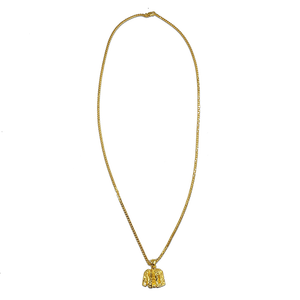 Load image into Gallery viewer, N.O. Gold Pendant