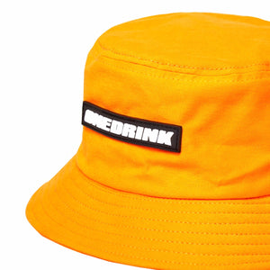Load image into Gallery viewer, Dinosaur Logo Bucket Hat, Yellow Mustard