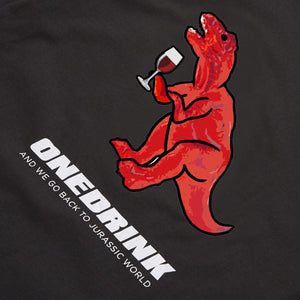 Load image into Gallery viewer, Dinosaur Tee, Black