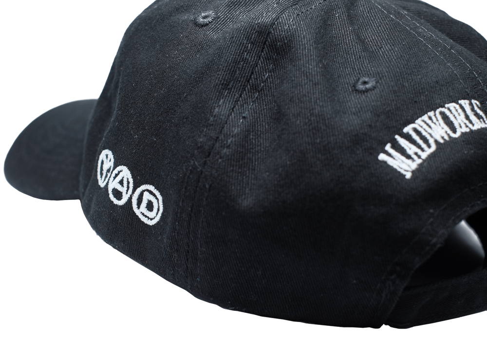 Logo 6 Panel Cap, Black