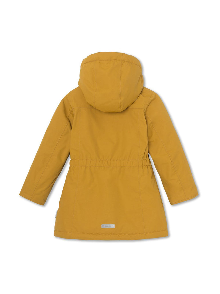 MINI A TURE Vela winter jacket - Buckthorn Brown