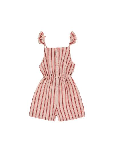 Retro stripes romper