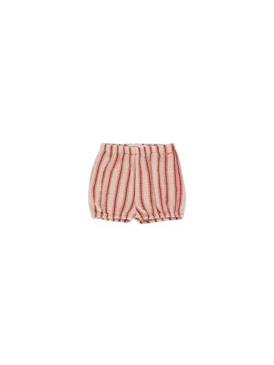 Retro stripes baby balloon shorts