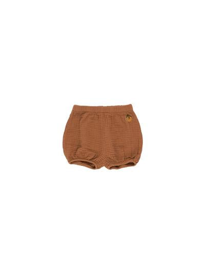 Baby balloon shorts - Cinnamon