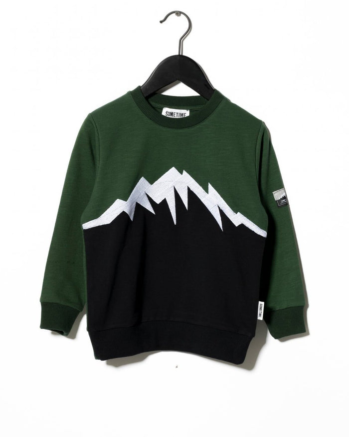 SUMMIT CREWNECK - BLACK