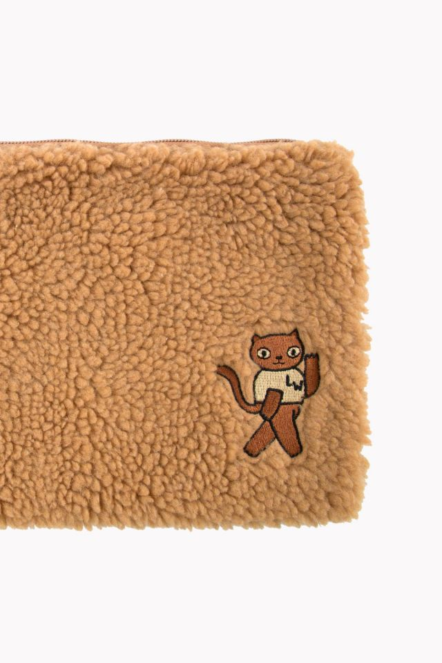 SHERPA POUCH BROWN
