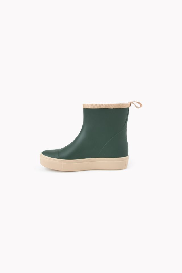 SOLID RAIN BOOT BOTTLE GREEN