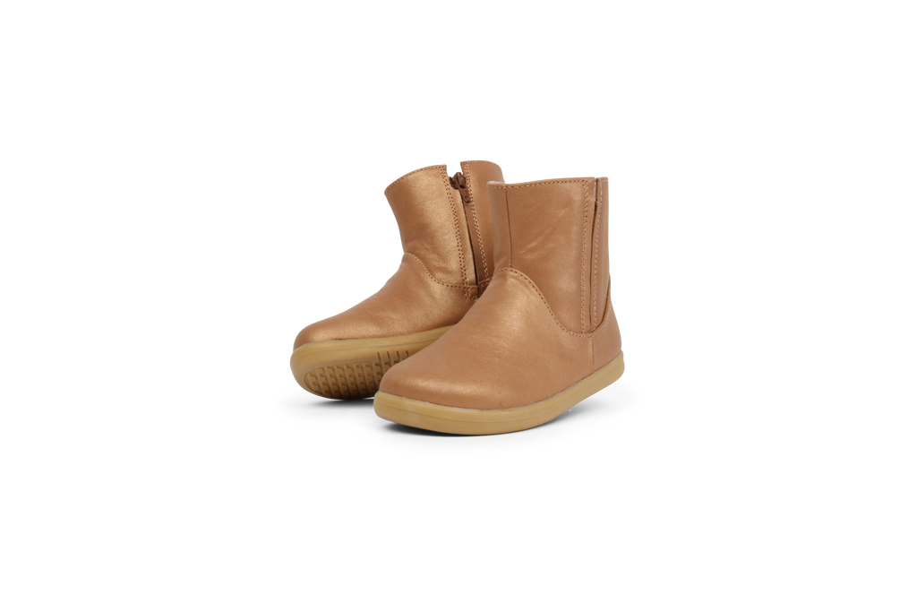 Shire Boot Caramel Shimmer