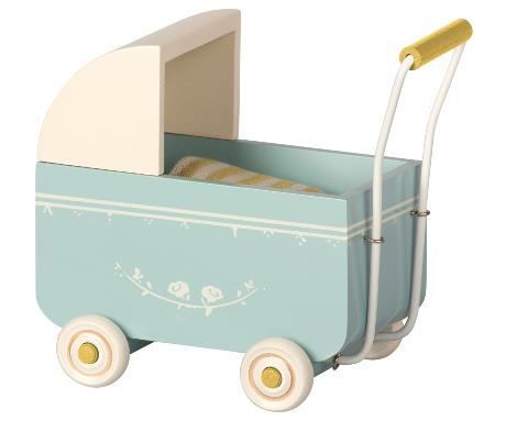 maileg PRAM, MY - BLUE
