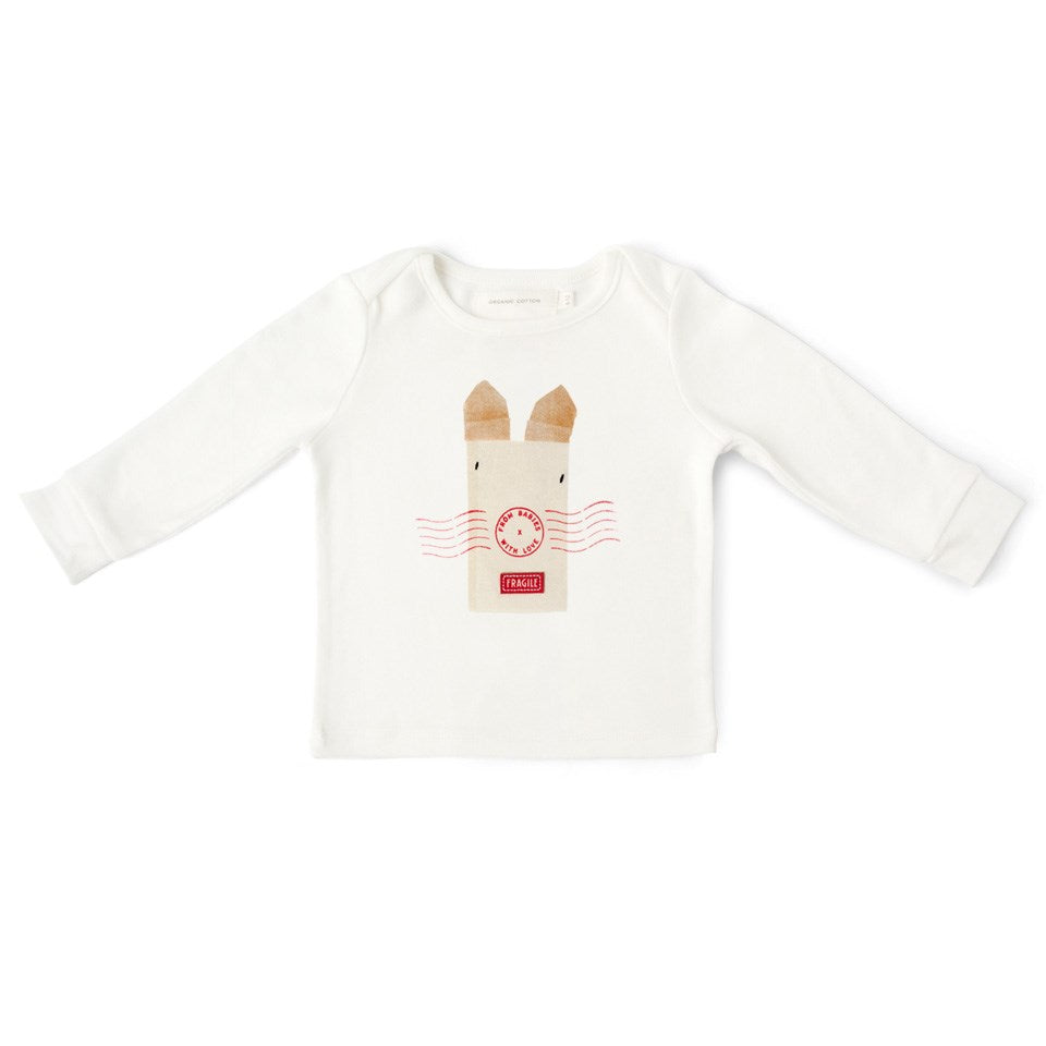 Rabbit organic t-shirt