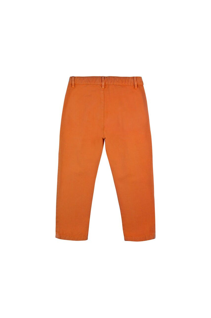 SOLID PLEAT PANT BROWN
