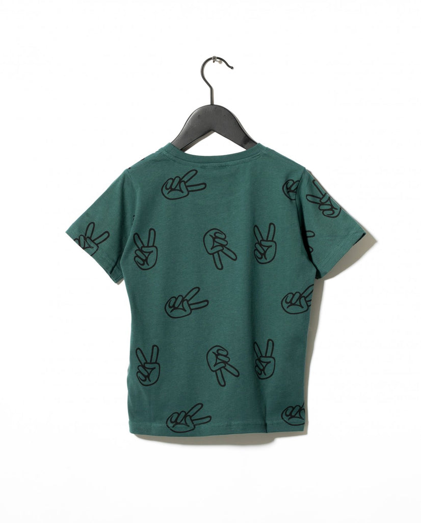 WILLOW T-SHIRT - GREEN