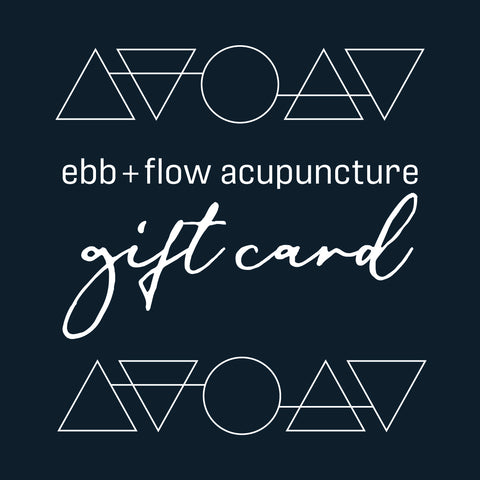 ebb + flow acupuncture gift card